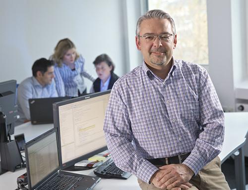 Michael Fischer, Teamleiter Software